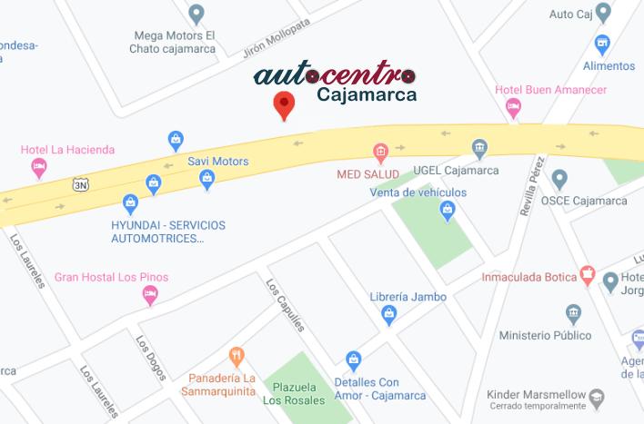 Autocentro Cajamarca Concesionario Mitsubishi