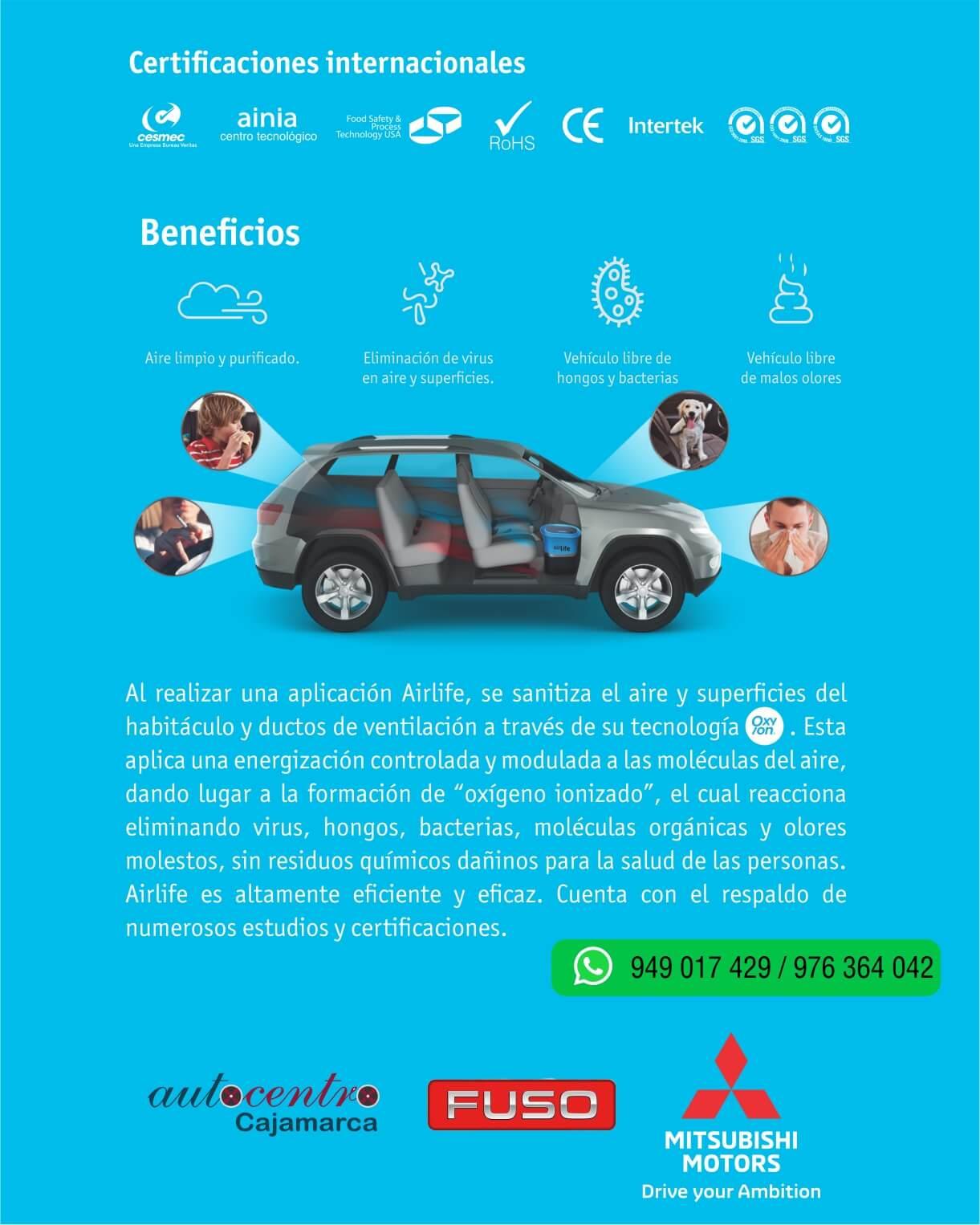 Airlife Cajamarca